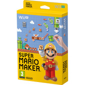 Super Mario maker + artbook - Wii U