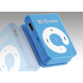 Xtreme Lettore MP3 8 GB, blu