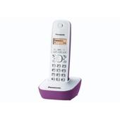 Panasonic KX-TG1611 Bianco Fucsia