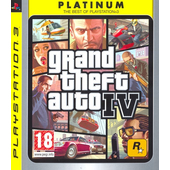 Rockstar Games Grand Theft Auto IV, PS3