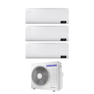 Samsung Wind-Free Comfort Next AJ068TXJ3KG/EU+AR09TXFCAWKNEUx2+AR12TXFCAWKNEU Climatizzatore split system Bianco