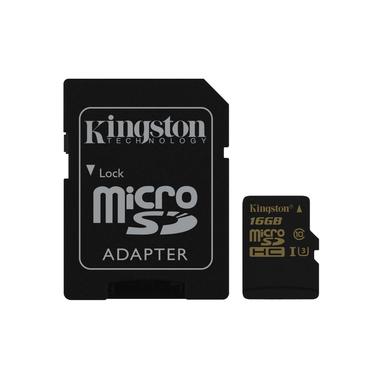 Kingston Technology Gold microSD UHS-I Speed Class 3 (U3) 16GB 16GB MicroSDHC UHS-I Classe 3 memoria flash