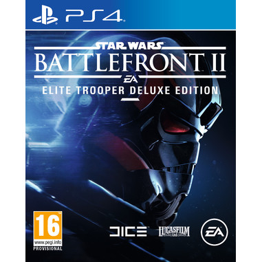 Star Wars Battlefront II: Elite Trooper Deluxe Edition, PS4 Deluxe PlayStation 4 Italiano videogioco