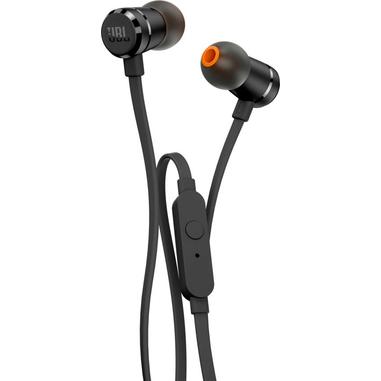 JBL T290 Auricolare Stereofonico Cablato Nero auricolare per telefono cellulare