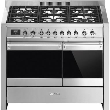 Smeg A2PY-81 cucina Cucina freestanding Gas Acciaio inossidabile A