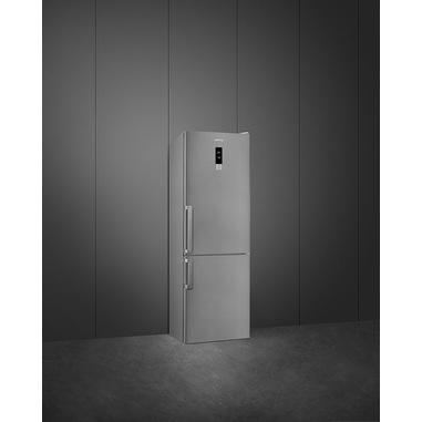 Smeg FC23MXNUE frigorifero con congelatore Libera installazione 360 L Acciaio inossidabile