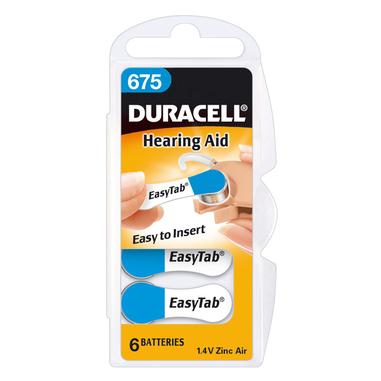 Duracell Hearing Aid DA675 Single-use battery