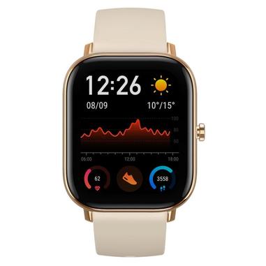 "Amazfit GTS smartwatch Oro AMOLED 4,19 cm (1.65"") Cellulare GPS (satellitare)"