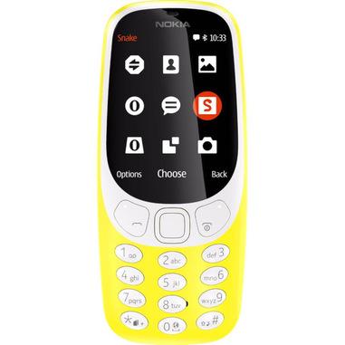 """Nokia 3310 6,1 cm (2.4"""") 79,6 g Nero, Grigio, Giallo Telefono cellulare basico"""