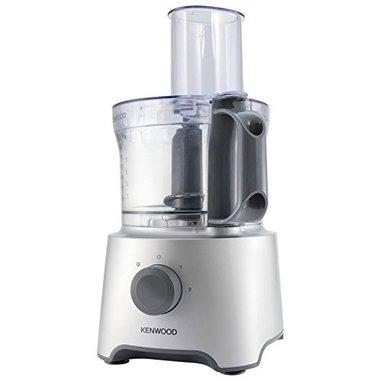 Kenwood Multipro Compact FDP301SI 800W 2.1L Grigio, Argento, Trasparente robot da cucina
