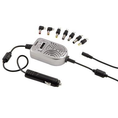 Hama Alimentatore universale per notebook uso auto 15-24V/70W, 7 connettori