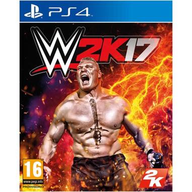 WWE 2K17, PS4