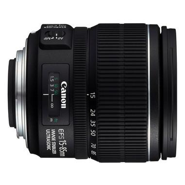 Canon EF-S 15-85mm f/3.5-5.6 IS USM SLR Obiettivi con zoom standard Nero