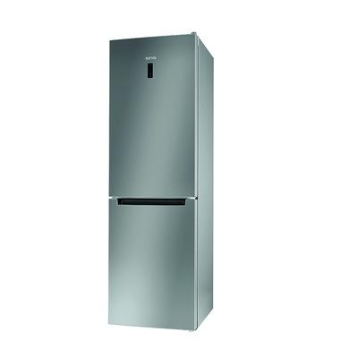 Ignis IGX 82O X frigorifero con congelatore Libera installazione 338 L E Acciaio inossidabile