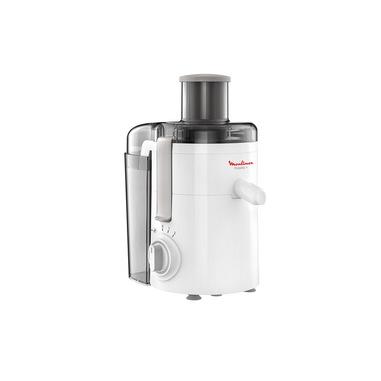 Moulinex JU3701 Frutelia+, Estrattore di Succo a Freddo, Dotato di Ampia Apertura, Facile da Pulire, 2 Velocità e Modalità Pulse, 350 W