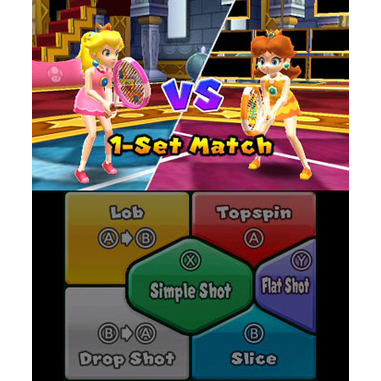 Mario Tennis Open, 3DS Selects
