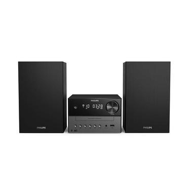 Philips TAM3505/12 set audio da casa Microsistema audio per la casa Nero, Grigio 18 W