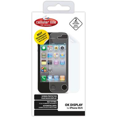 Cellularline SPIPHONE5 iPhone 5 2pezzo(i) protezione per schermo