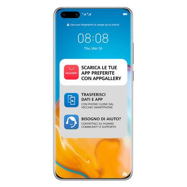 """Huawei P40 Pro 16,7 cm (6.58"""") Dual SIM ibrida Android 10.0 Huawei Mobile Services (HMS) 5G USB tipo-C 8 GB 256 GB 4200 mAh Nero"""