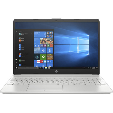 """HP 15-dw1057nl Computer portatile Argento 39,6 cm (15.6"""") 1920 x 1080 Pixel Intel® Core™ i7 di decima generazione 8 GB DDR4-SDRAM 512 GB SSD NVIDIA® GeForce® MX130 Wi-Fi 5 (802.11ac) Windows 10 Home"""