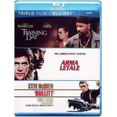 Training day + Arma letale + Bullitt (Blu-ray)