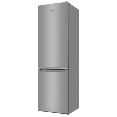 Whirlpool W7 931A OX frigorifero con congelatore Libera installazione 368 L D Acciaio inossidabile