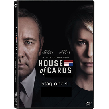 House of Cards: Stagione 4, (DVD)
