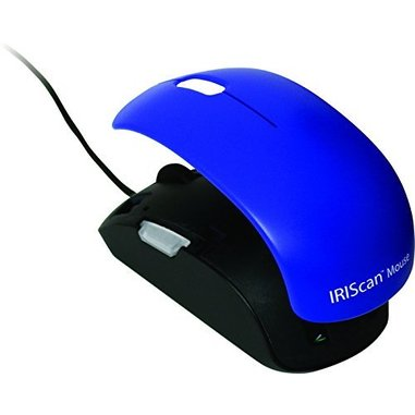 I.R.I.S. IRISCan Mouse 2 Mouse scanner 300 x 300DPI A3 Nero, Blu