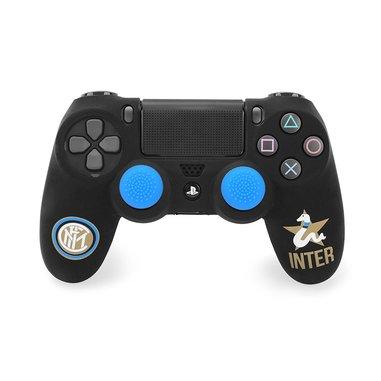 Gioteck Guscio Silicone Ufficiale FC Inter per Controller - PlayStation 4