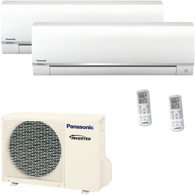 Panasonic CU2RE15SBE + CSTE25TKEW + CSTE35TKEW condizionatore d'aria dual split