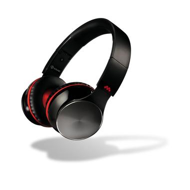 MySound Speak Air Padiglione auricolare Stereofonico Cablato Nero, Rosso auricolare per telefono cellulare