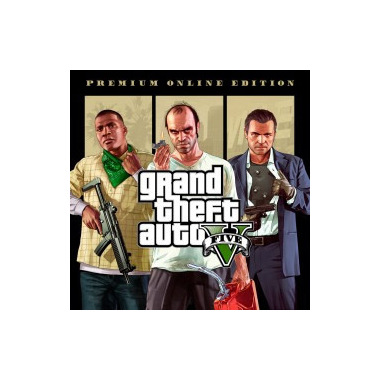 Take-Two Interactive Grand Theft Auto V: Premium Online Edition, PS4 PlayStation 4