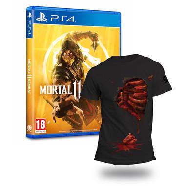 Mortal Kombat 11 + maglietta - Playstation 4