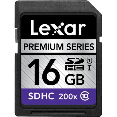 Lexar 16GB Platinum II SDHC UHS-I 16GB SDHC Class 10 memoria flash