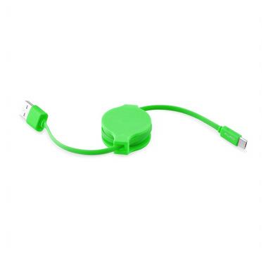 PURO CMICRORTICONGRN cavo USB 1 m 2.0 USB A Micro-USB A Verde