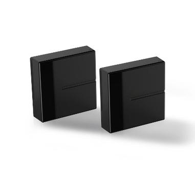 Meliconi 480524 BA Parete Cable box Nero 2pezzo(i) organizer per cavi