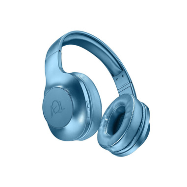 AQL Astros - Universale Cuffie Bluetooth pump bass con microfono Blu