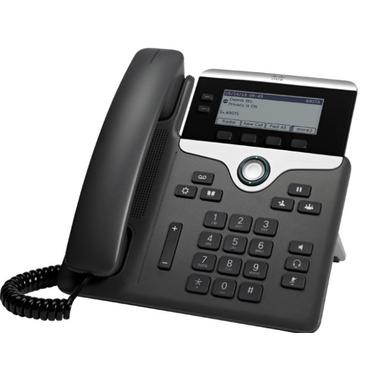Cisco 7811 telefono IP Nero, Argento Cornetta cablata LED 1 linee