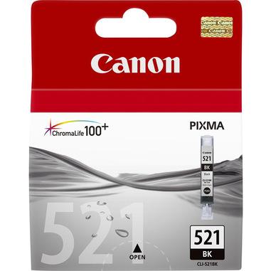 Canon CLI-521 BK cartuccia d'inchiostro 1 pz Originale Nero
