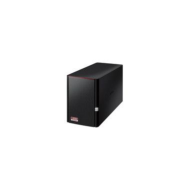 Buffalo LinkStation 520 RTD1195N Collegamento ethernet LAN Nero NAS