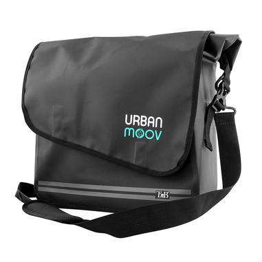T'nB UMBIKEBAG Cestino e borsa per bicicletta Posteriore Borsa da bicicletta PVC Nero 22 L