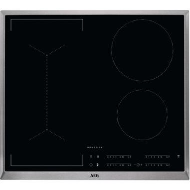 AEG IKB64443XB Nero Da incasso 60 cm Piano cottura a induzione 4 Fornello(i)