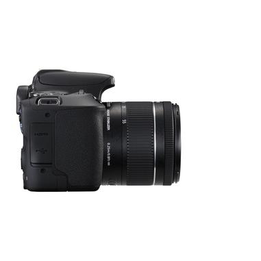 Canon EOS 200D + EF-S 18-55mm BAG 100EG + SD Card 16GB Kit fotocamere SLR 24.2MP CMOS 6000 x 4000Pixel Nero