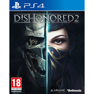 Cedemo Dishonored 2 Basic Tedesca, Inglese, Cinese semplificato, ESP, Francese, ITA, Giapponese, Polacco, Portoghese, Russo PlayStation 4