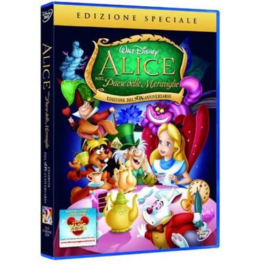 Alice nel Paese delle Meraviglie DVD film (Special Edition)