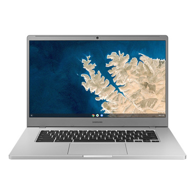 "Samsung Chromebook 4+ Argento 39,6 cm (15.6"") 1920 x 1080 Pixel Intel® Celeron® 4 GB LPDDR4-SDRAM 64 GB eMMC Wi-Fi 5 (802.11ac) Chrome OS"