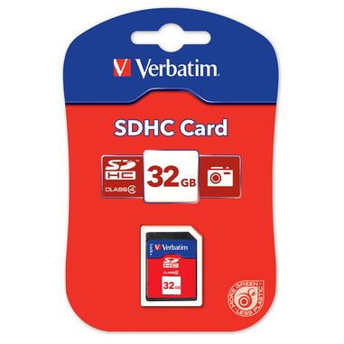 Verbatim SDHC Class 4 32GB memoria flash