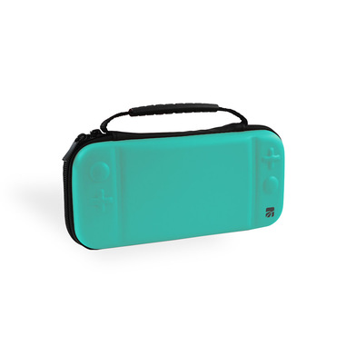 Xtreme 95683B custodia per console portatile Custodia a libro Nintendo EVA (Acetato del vinile dell'etilene) Turchese