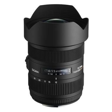 Sigma 12-24mm F4.5-5.6 EX DG Aspherical/HSM Nero