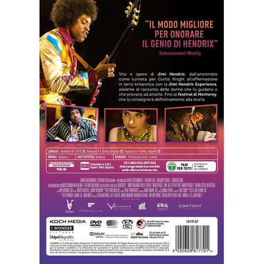 Jimi - All Is by My Side (DVD)